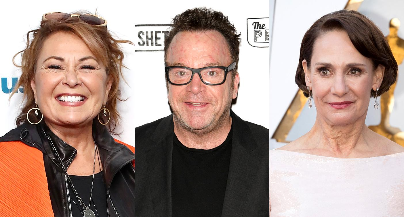 tom arnold reflects on almost romancing laurie metcalf video