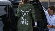 Visite à des enfants sans-papiers, veste suscitant la polémique: Melania Trump surprend