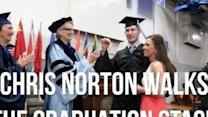 Paralyzed Student Walks Across Stage at College Graduation to Roaring Applause
