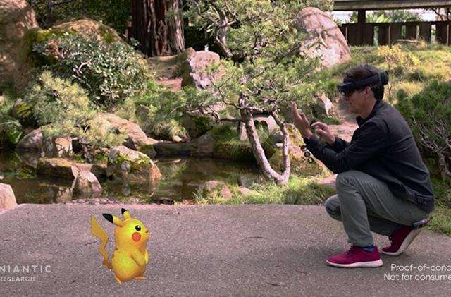 'Pokémon Go' on HoloLens 2 is a glimpse at the future of AR gaming