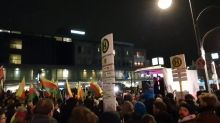Crowd Gathers in Berlin for Anti-Racism Vigil Following Mass Shooting