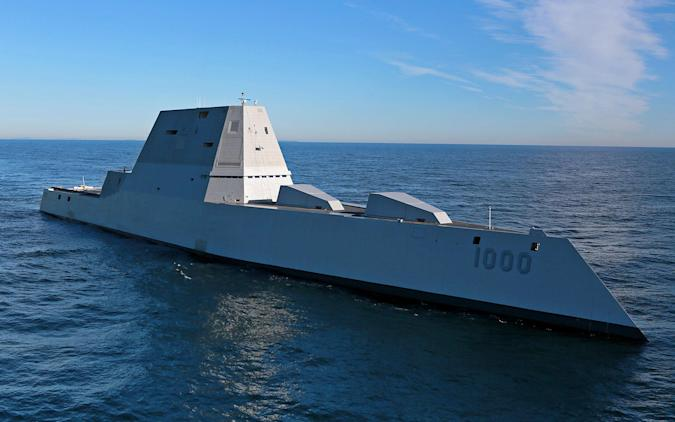 The Navy's $4 billion stealth destroyer has malfunctioned again
