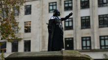 Darth Vader takes over Edward Colston plinth