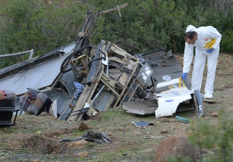 Forensic experts are investigating the causes of the crash