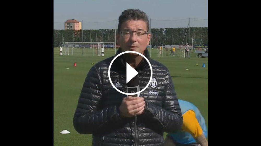 VÍDEO: Dani Alves 'trollea' al presentador de la Juventus
