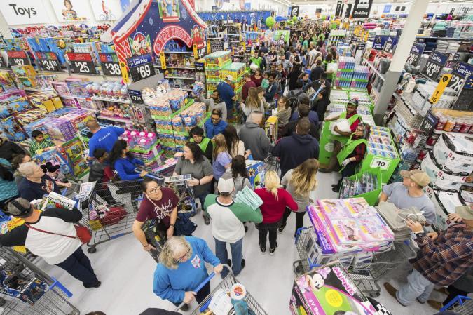 Gunnar Rathbun/AP Images for Walmart