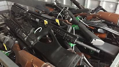 New Zealanders hand back 10,000 weapons in amnesty
