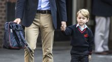 This is the surname Prince George will be using at school