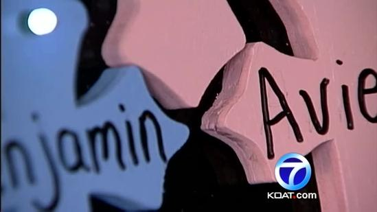 Special crosses made for Sandy Hook victims