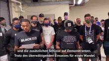 Protest gegen Polizeigewalt - Der US-Sport hält inne