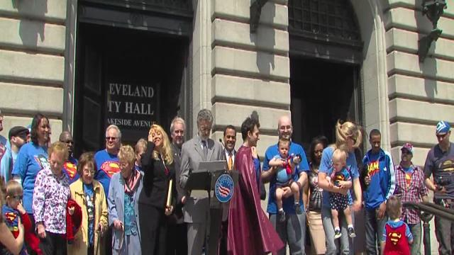 5pm: Superman Day in Cleveland