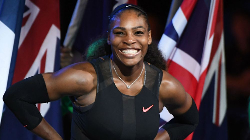 'World's oldest number one' Serena posts message to unborn baby