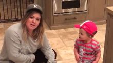 Kelly Clarkson's Daughter River Rose Is All of Us While Having Her First Taste of Nutella -- Watch!