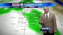 Temps to warm, rain chances to increase