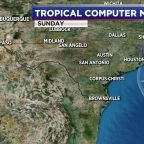 HOUSTON WEATHER: Scattered storms are possible Wednesday as we keep an eye out on Tropical Storm Cristobal
