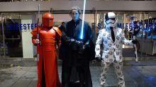 Star Wars fans flock to midnight screenings of The Last Jedi
