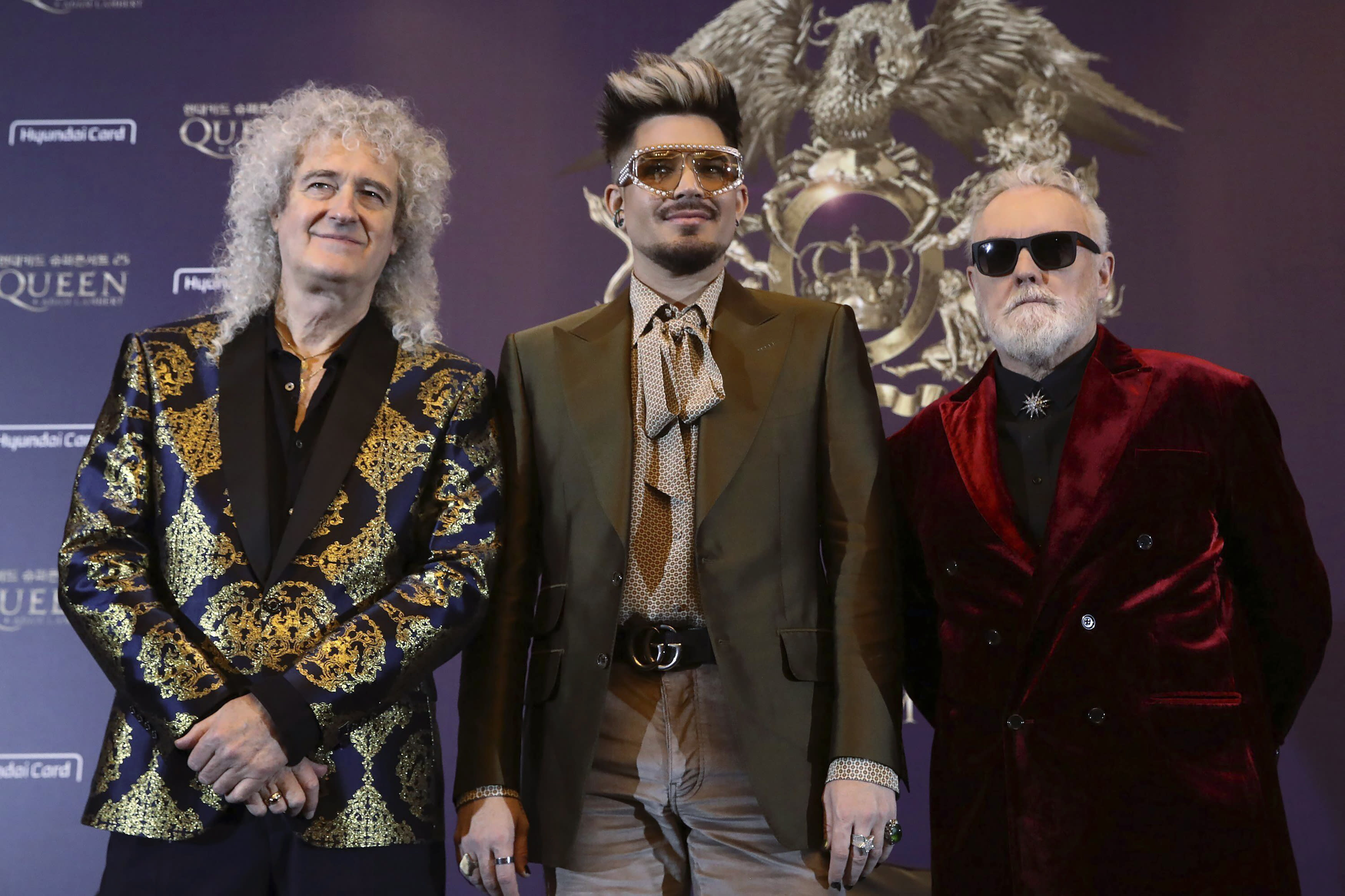 Adam Lambert and Queen reenact iconic Live Aid concert for first time since 1985