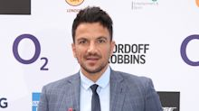 Peter Andre tests positive for the coronavirus