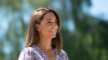 Kate Middleton plants pretty garden at a children's hospice for families 'in the most unimaginable circumstances'