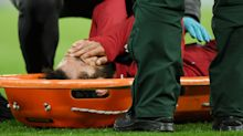 Liverpool star Mo Salah stretchered off pitch after dangerous collision with Newcastle goalkeeper