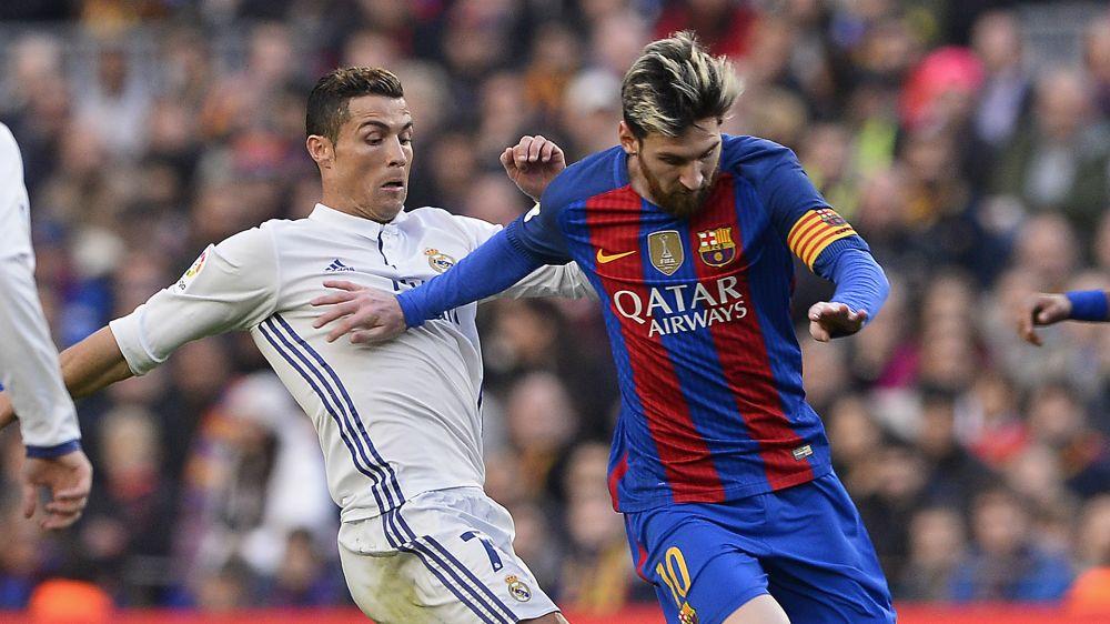 Dia Mundial do beijo: Messi e CR7 'em clima de romance' em Barcelona
