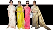Can we talk about how good Kangana Ranaut looks in sarees?