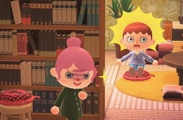 Animal Crossing adds a whoopie cushion in time for April Fool's Day