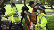 Sydney BLM rally shut down by police