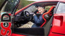 Meet the 80-year old Brit who still drives his Ferrari F40