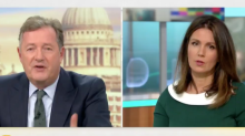 Piers Morgan says he needs to be 'shamed' into losing weight as he defends Kevin Pieterson's comments