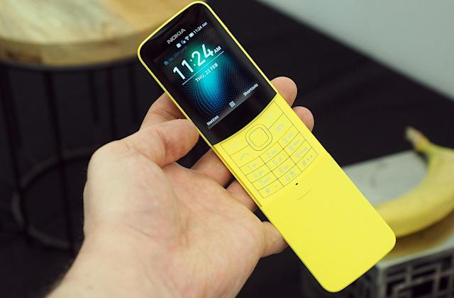 The Nokia 8110 Reloaded is HMD's latest retro feature phone