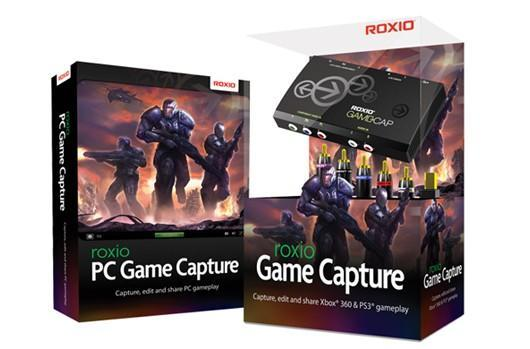 Roxio Game Capture introduces new video capture options for consoles and PC