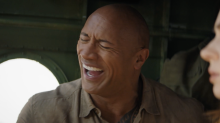 'Jumanji: The Next Level': Watch The Rock and Kevin Hart fluff their lines in new gag reel