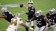 Raiders overcome Saints in Las Vegas home opener