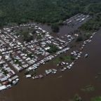 Drone captures devastating floods in Brazil