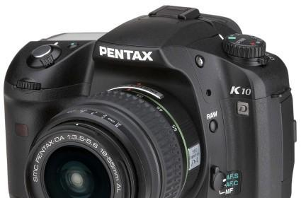 Pentax K10D DSLR reviewed