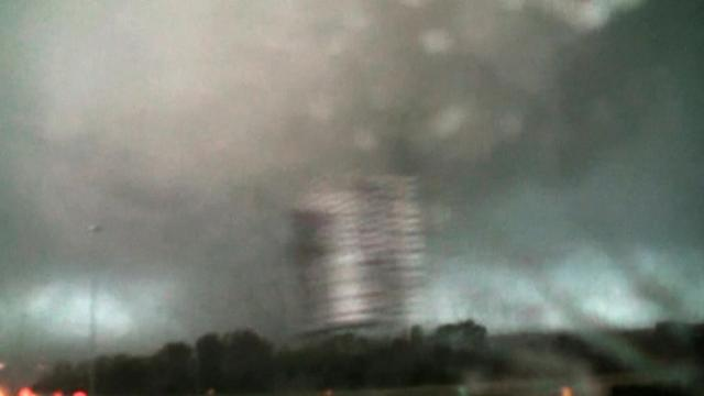 Twister hits Mississippi as tornado survivors sift through rubble in Arkansas