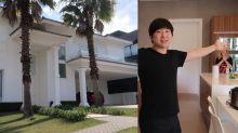 Pyong Lee apresenta nova mansão de 5 quartos, piscina, subsolo e pomar