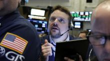 Energy companies lead US stock indexes slightly higher