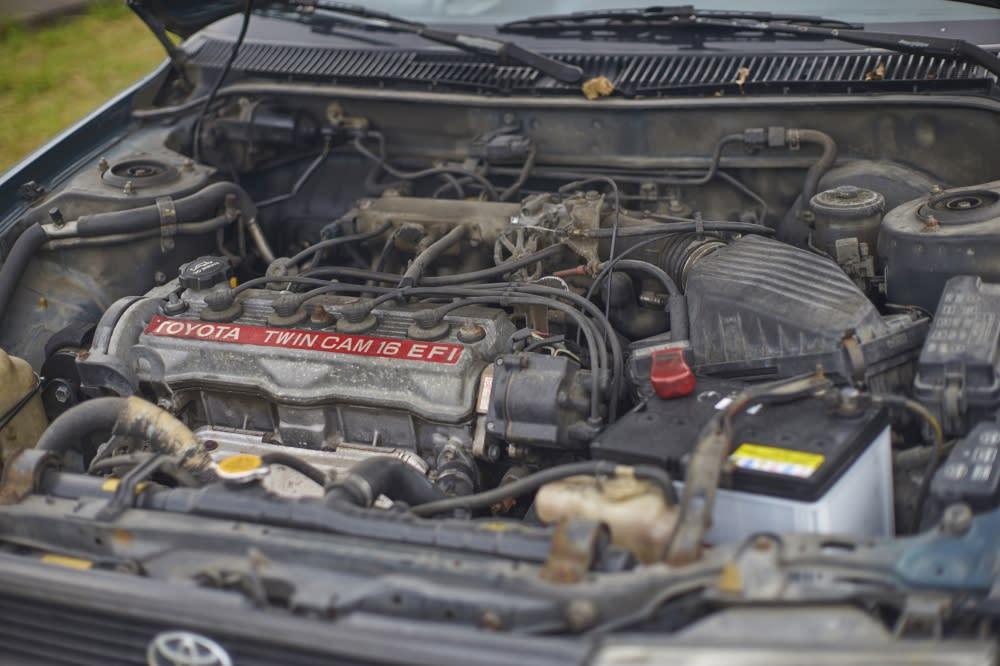 Corolla-06 動力採取4缸1.6升的引擎規格