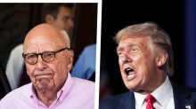 "Trump screamed at Fox News owner Rupert Murdoch in ""humongous blowup"" over ""unfair"" coverage: report"