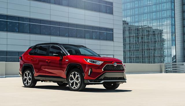 Toyota's RAV4 plug-in hybrid will be available this summer for $40,000