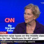 Is Warren the presumptive Democratic frontrunner?