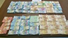 Près d'un million d'euros en liquide saisis par la police à Courbevoie
