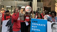 United Airlines catering workers vote to unionize