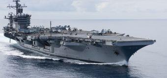 U.S. warships sail Taiwan Strait amid China tensions
