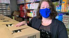 'Sadness, depression, isolation' at food banks as usage climbs