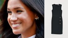 This £24.99 H&M dress is near-identical to Meghan Markle's £237 Club Monaco version