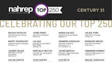 "Century 21 Real Estate Hispanic Sales Professionals Honored In ""NAHREP Top 250 Report"" For Industry-Leading Performance"