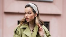 If You're Going to Try 1 Hair Accessory Trend This Year, the White Headband Is It